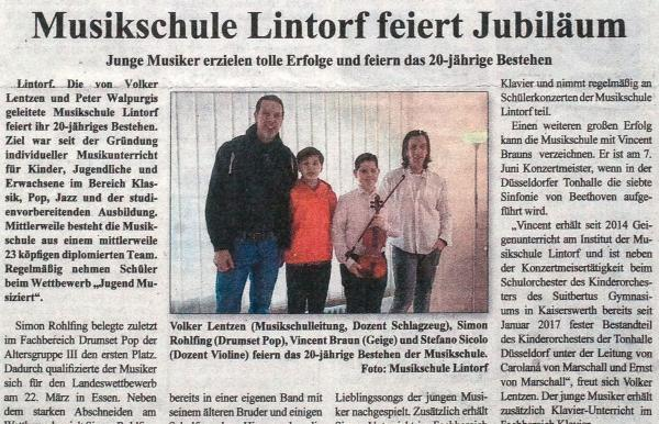 Ratinger Wochenblatt Jan. 2017