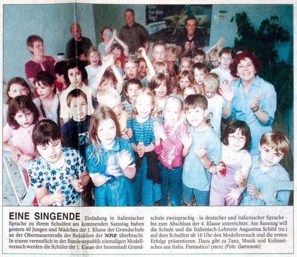 Neue Ruhr Zeitung 28.06.2001